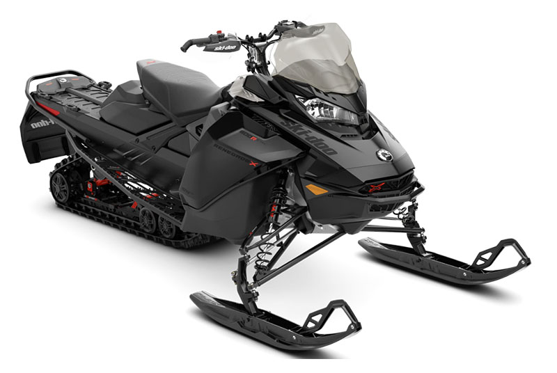 2022 Ski-Doo Renegade X 600R E-TEC ES Ice Ripper XT 1.25 in Augusta, Maine - Photo 1