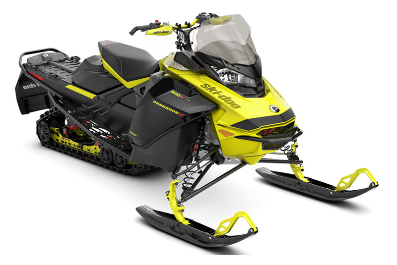 2022 Ski-Doo Renegade X 600R E-TEC ES Ice Ripper XT 1.25 in Cohoes, New York - Photo 1