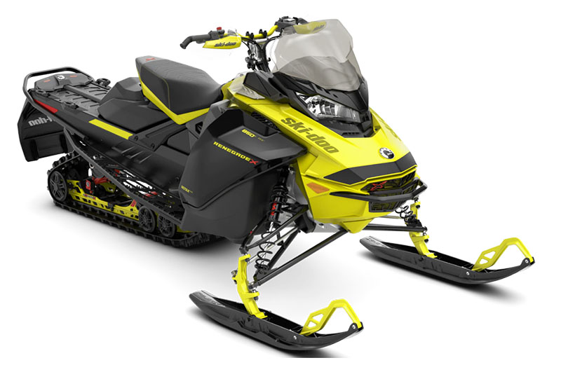 2022 Ski-Doo Renegade X 850 E-TEC ES Ice Ripper XT 1.25 w/ Premium Color Display in Derby, Vermont - Photo 1