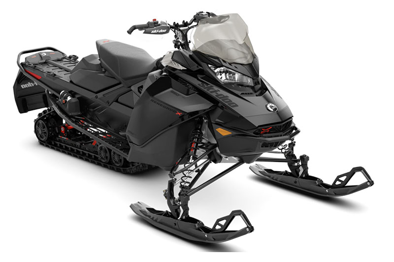 2022 Ski-Doo Renegade X 850 E-TEC ES w/ Adj. Pkg. Ice Ripper XT 1.25 w/ Premium color display in Sully, Iowa - Photo 1