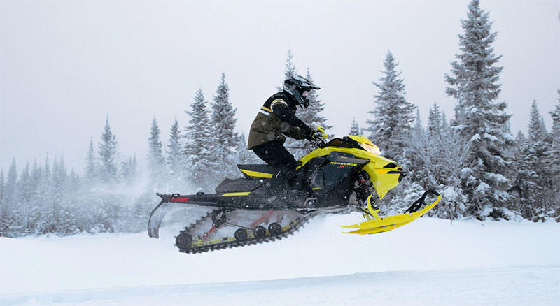 2022 Ski-Doo Renegade X 850 E-TEC ES w/ Adj. Pkg, Ice Ripper XT 1.5 w/ Premium Color Display in Bozeman, Montana - Photo 5