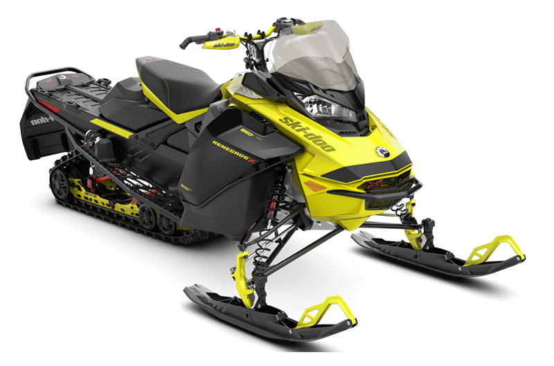 2022 Ski-Doo Renegade X 850 E-TEC ES w/ Adj. Pkg. Ice Ripper XT 1.25 w/ Premium color display in Land O Lakes, Wisconsin - Photo 1
