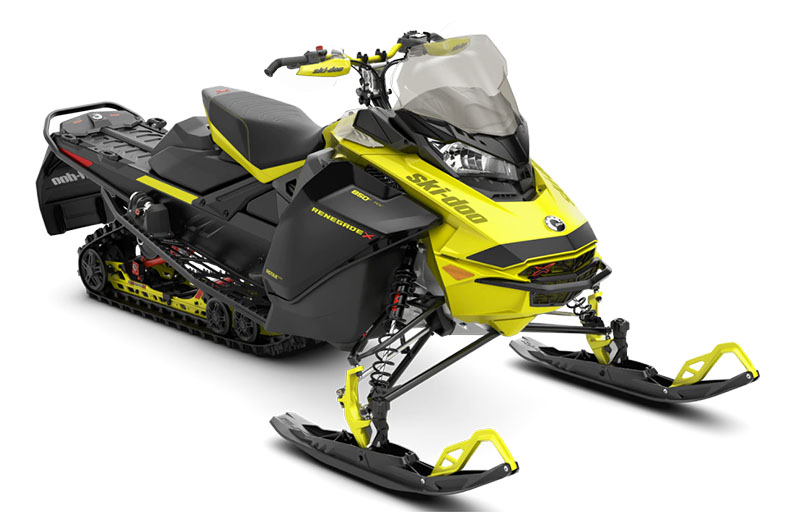 2022 Ski-Doo Renegade X 850 E-TEC ES w/ Adj. Pkg. Ripsaw 1.25 in Deer Park, Washington - Photo 1