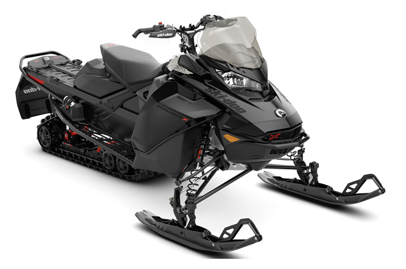 2022 Ski-Doo Renegade X 850 E-TEC ES w/ Adj. Pkg. Ripsaw 1.25 w/ Premium Color Display in Presque Isle, Maine - Photo 1