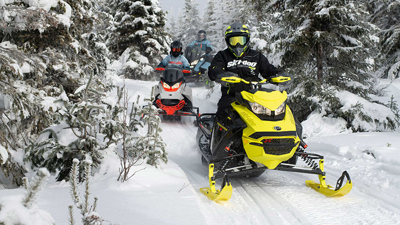 2022 Ski-Doo Renegade X 850 E-TEC ES w/ Adj. Pkg. Ripsaw 1.25 w/ Premium Color Display in Presque Isle, Maine - Photo 4