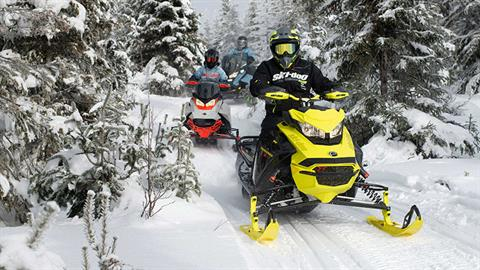 2022 Ski-Doo Renegade X 850 E-TEC ES w/ Adj. Pkg. Ripsaw 1.25 w/ Premium Color Display in Rexburg, Idaho - Photo 4