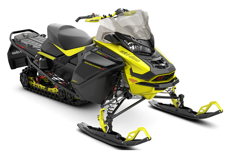 2022 Ski-Doo Renegade X 900 ACE TURBO R ES w/ Adj. Pkg. Ice Ripper XT 1.25 in Clinton Township, Michigan - Photo 1