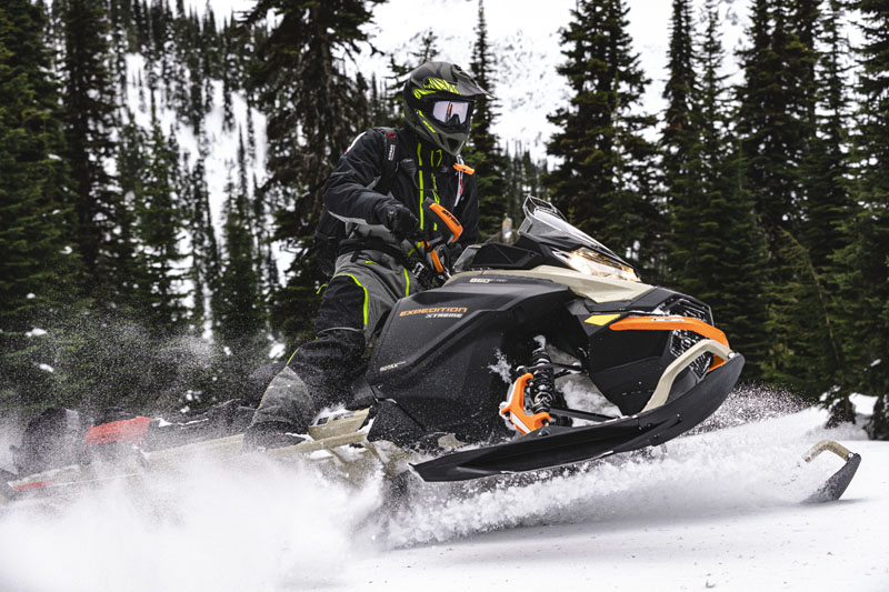 2022 Ski-Doo Expedition SE 600R E-TEC ES Silent Ice Cobra WT 1.5 in Hillman, Michigan - Photo 9