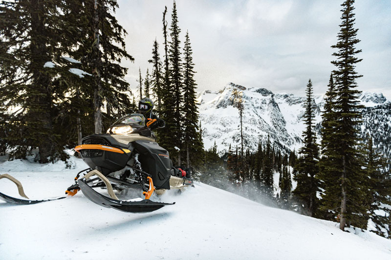 2022 Ski-Doo Expedition SE 900 ACE Turbo 150 ES Silent Ice Cobra WT 1.5 w/ Premium Color Display in Fairview, Utah - Photo 6