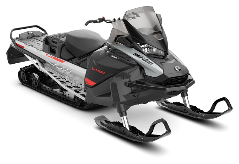 2022 Ski-Doo Skandic Sport 600 EFI ES Utility WT 1.25 in Speculator, New York - Photo 1