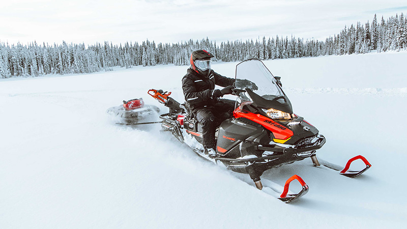 2022 Ski-Doo Skandic Sport 600 EFI ES Utility WT 1.25 in Speculator, New York - Photo 2