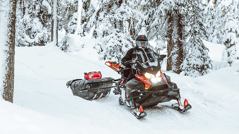 2022 Ski-Doo Skandic Sport 600 EFI ES Utility WT 1.25 in Pinehurst, Idaho - Photo 4
