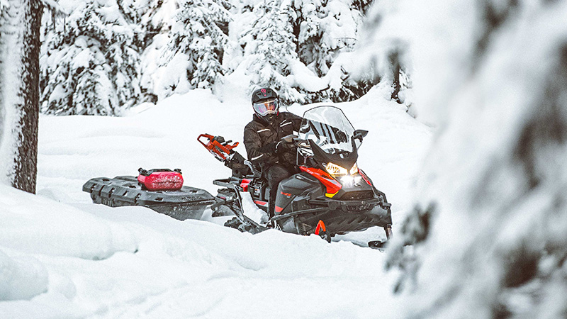 2022 Ski-Doo Skandic Sport 600 EFI ES Utility WT 1.25 in Pinehurst, Idaho - Photo 6