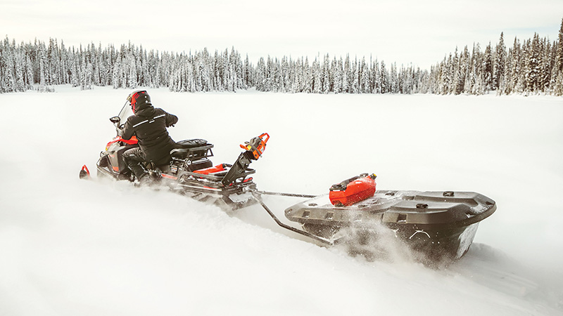 2022 Ski-Doo Skandic Sport 600 EFI ES Utility WT 1.25 in Pinehurst, Idaho - Photo 9