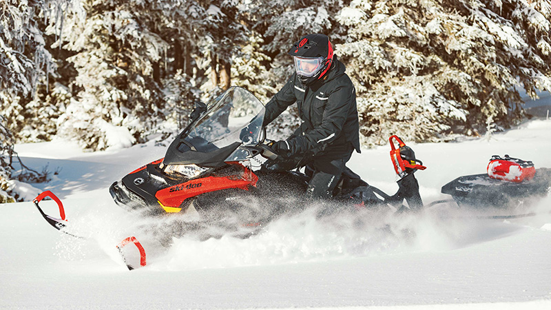 2022 Ski-Doo Skandic SWT 600R E-TEC ES Silent Cobra SWT 1.5 in Moses Lake, Washington - Photo 9