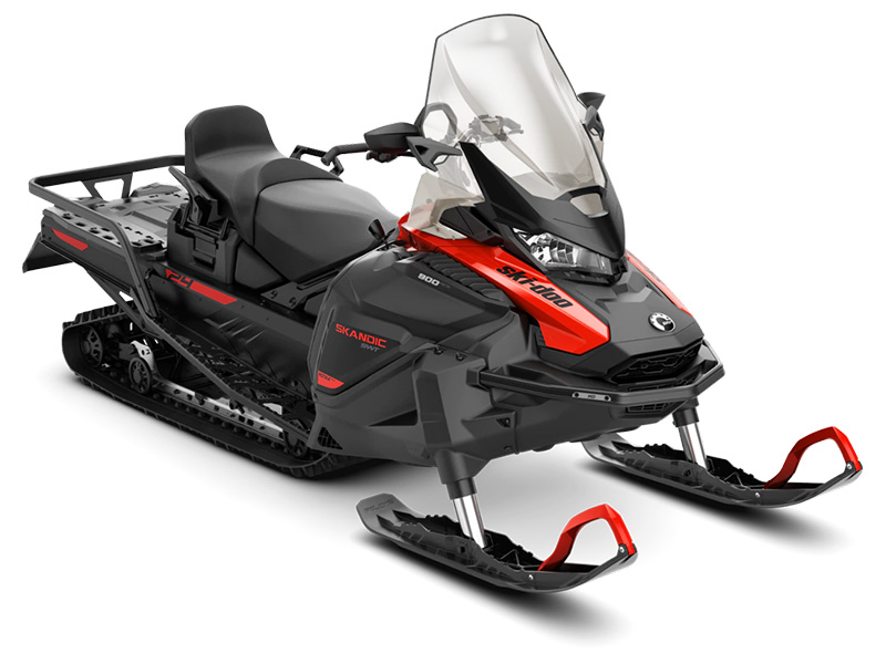 2022 Ski-Doo Skandic SWT 900 ACE ES Silent Cobra SWT 1.5 in Ponderay, Idaho - Photo 1
