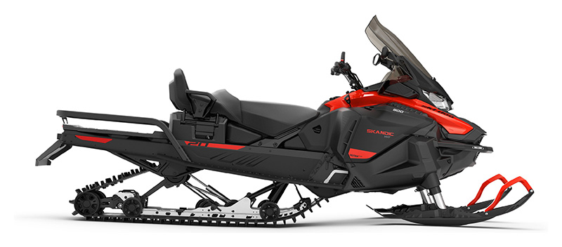 2022 Ski-Doo Skandic SWT 900 ACE ES Silent Cobra SWT 1.5 in Ponderay, Idaho - Photo 2