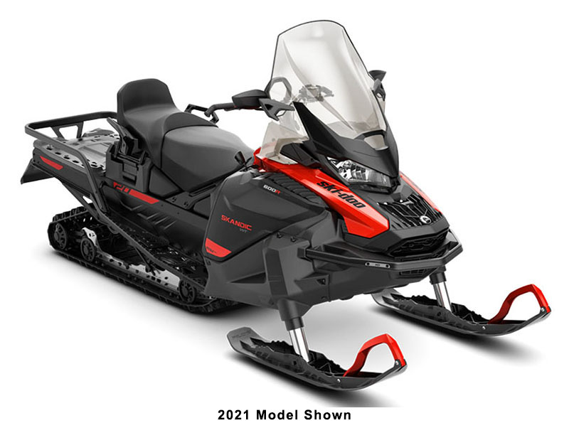 2022 Ski-Doo Skandic WT 600R E-TEC ES Cobra WT 1.5 in Speculator, New York - Photo 1