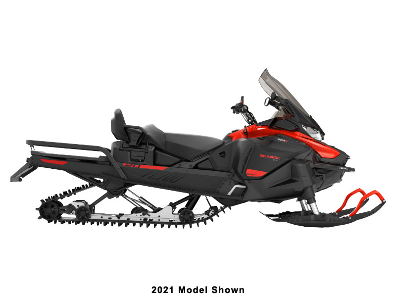 2022 Ski-Doo Skandic WT 600R E-TEC ES Cobra WT 1.5 in Lancaster, New Hampshire - Photo 2