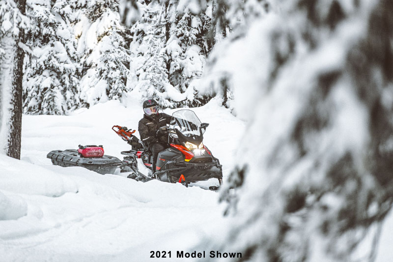 2022 Ski-Doo Skandic WT 600R E-TEC ES Cobra WT 1.5 in Speculator, New York - Photo 6