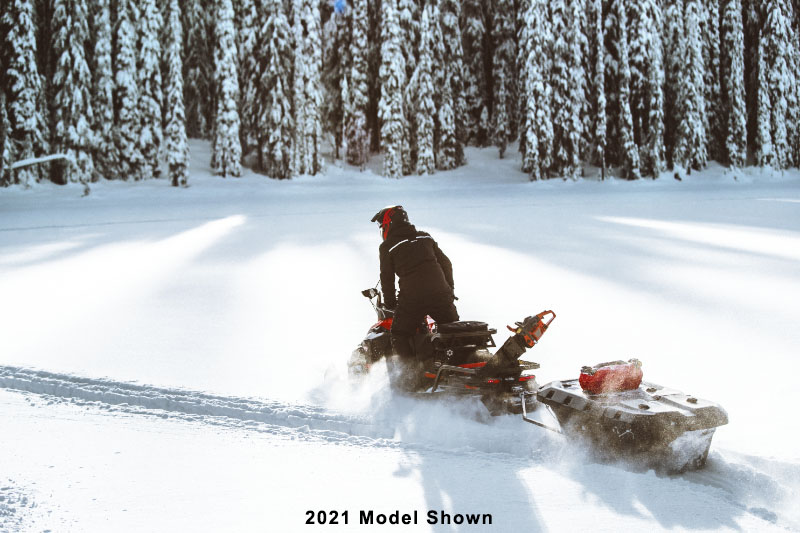 2022 Ski-Doo Skandic WT 600R E-TEC ES Cobra WT 1.5 in Derby, Vermont - Photo 8