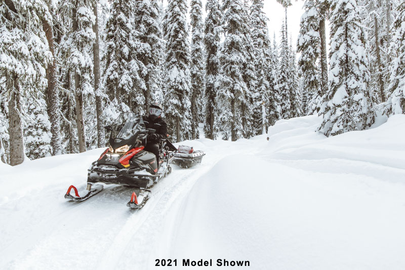 2022 Ski-Doo Skandic WT 600R E-TEC ES Cobra WT 1.5 in Speculator, New York - Photo 12