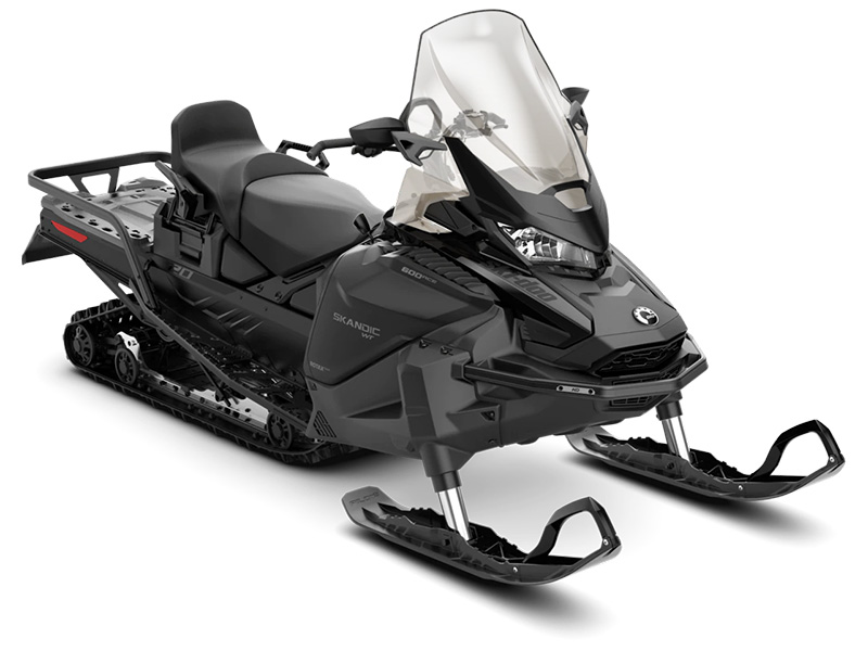 2022 Ski-Doo Skandic WT 600 ACE ES Cobra WT 1.5 in Augusta, Maine - Photo 1