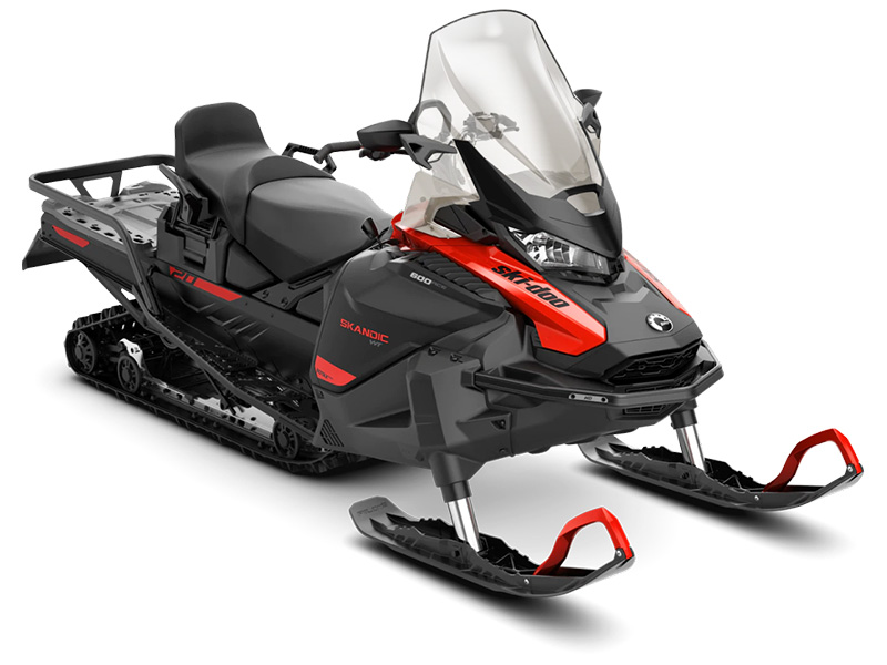 2022 Ski-Doo Skandic WT 600 ACE ES Cobra WT 1.5 in Fairview, Utah - Photo 1