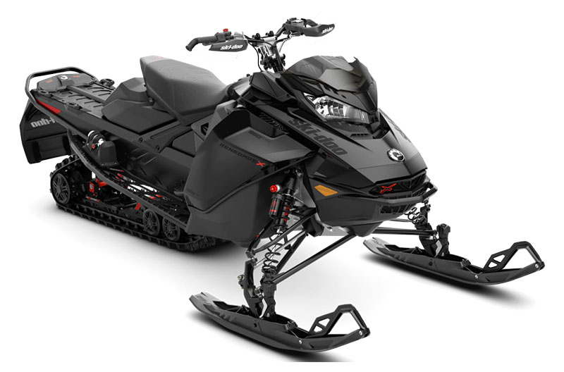 2022 Ski-Doo Renegade X-RS 850 E-TEC ES w/ Adj. Pkg, Ice Ripper XT 1.25 in Augusta, Maine - Photo 1
