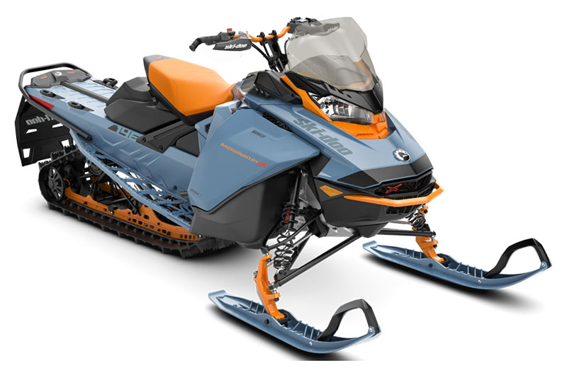 2022 Ski-Doo Backcountry X 850 E-TEC ES PowderMax 2.0 w/ Premium Color Display in Hillman, Michigan - Photo 1