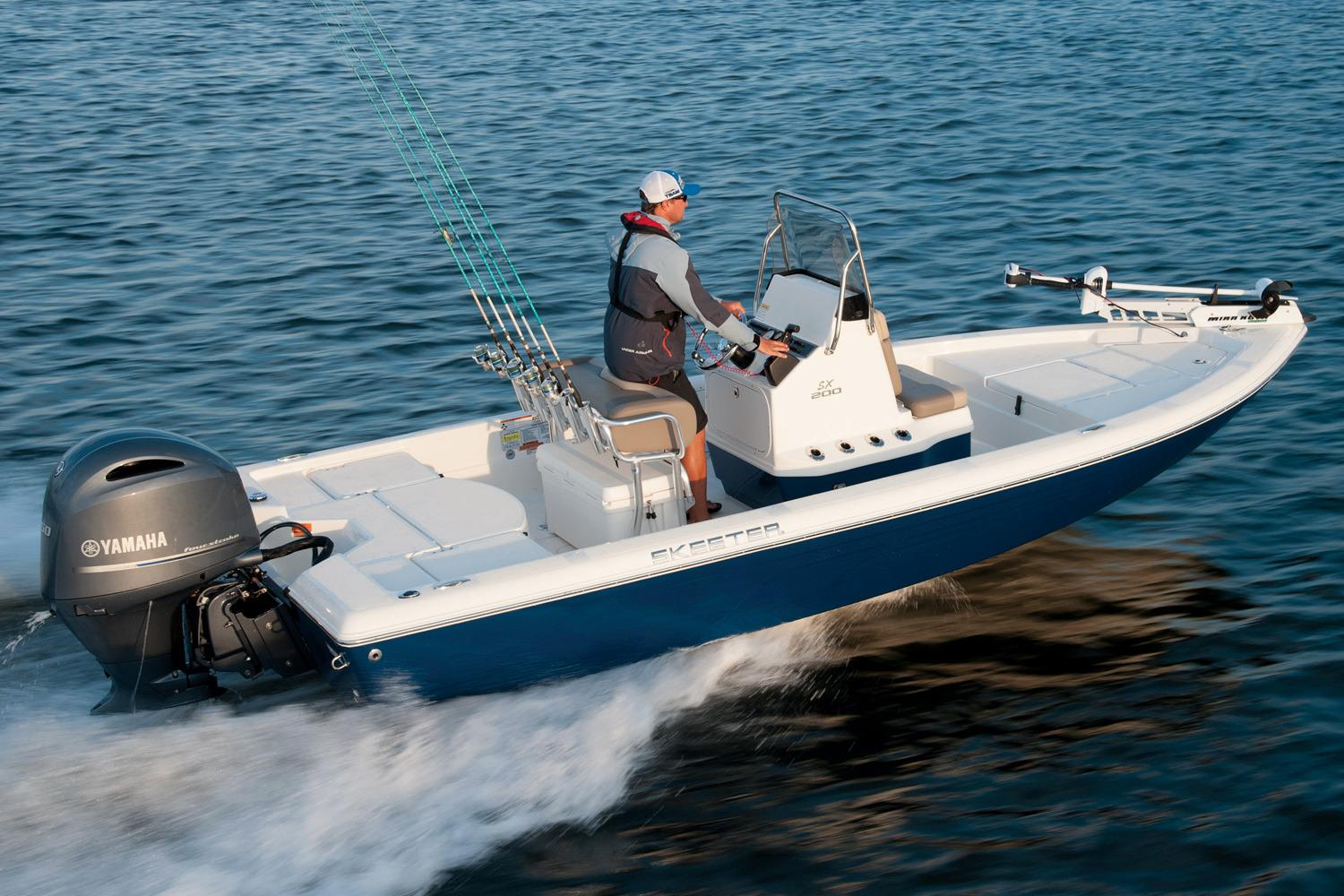New 2018 skeeter sx 200 power boats outboard in west for Saltwater fishing boats