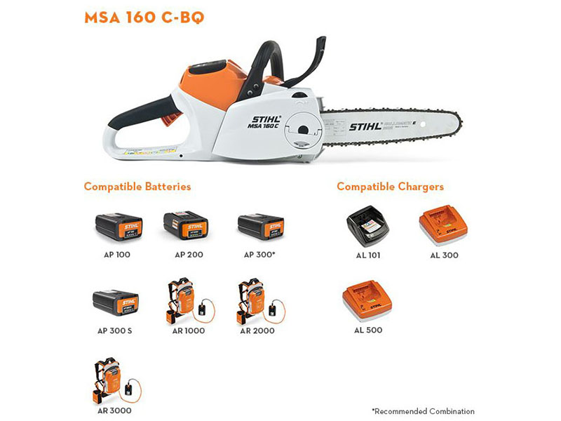Stihl MSA 160 C-B in Kerrville, Texas - Photo 2