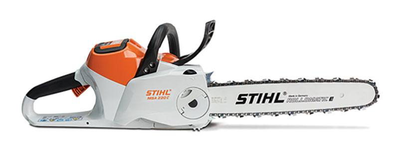 Stihl MSA 220 C-B Chainsaw in Philipsburg, Montana - Photo 1