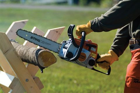 Stihl MS 180 C-BE Chainsaw in Philipsburg, Montana - Photo 3