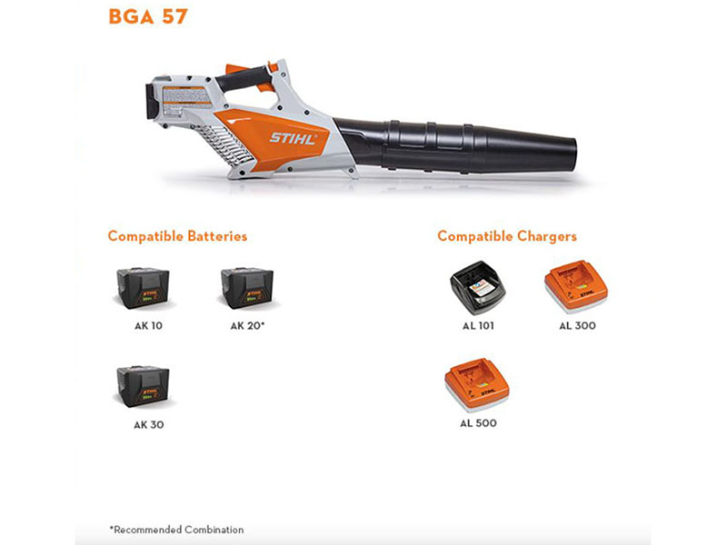 Stihl BGA 57 without Battery in Philipsburg, Montana - Photo 2