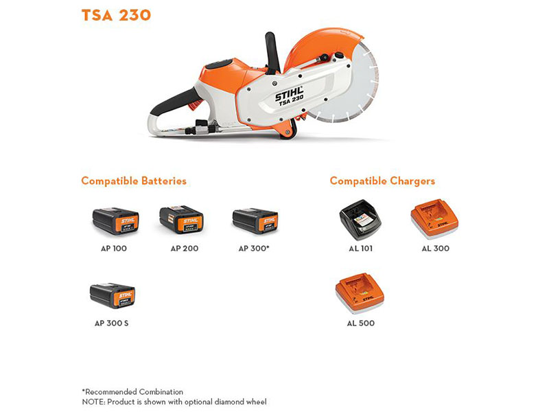 Stihl TSA 230 in Calmar, Iowa - Photo 2