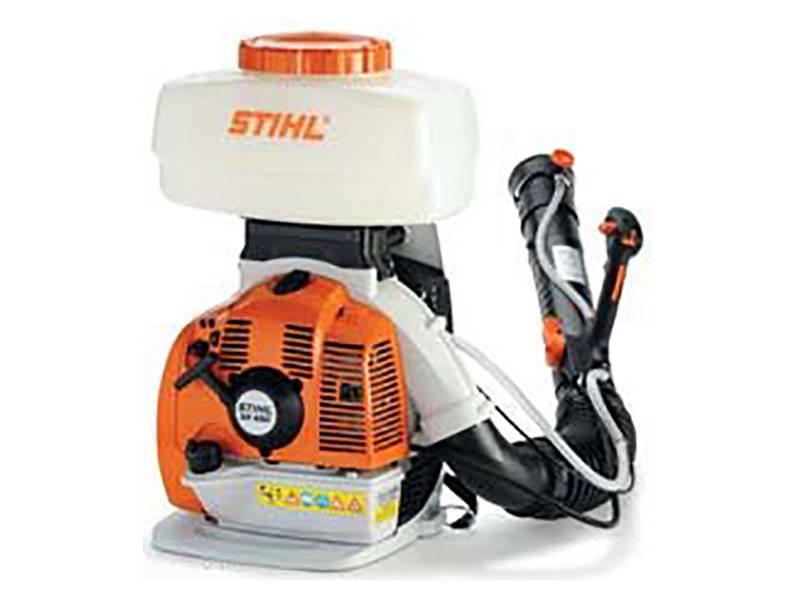 New 2012 Stihl SR 450 Backpack Sprayer Orange / White