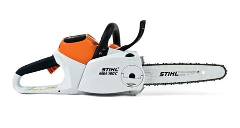 Stihl MSA 160 C-BQ Chainsaw in Saint Johnsbury, Vermont