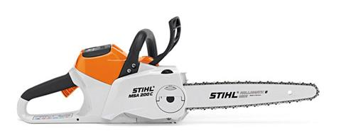 2019 Stihl MSA 200 C-BQ Chainsaw in Jesup, Georgia