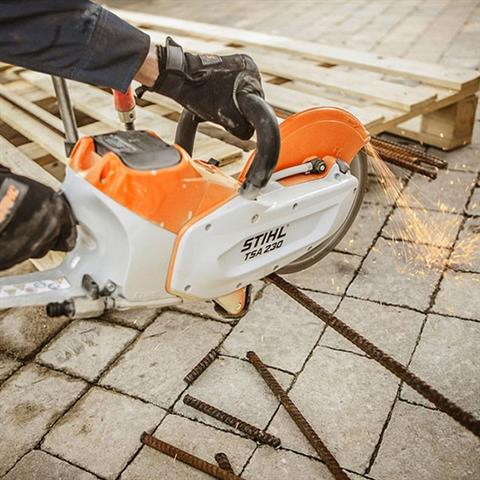 Stihl TSA 230 Battery Cut-off Machine in Bingen, Washington - Photo 3