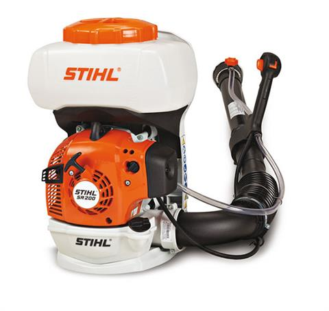 Stihl SR 200 Backpack Sprayer in Mio, Michigan