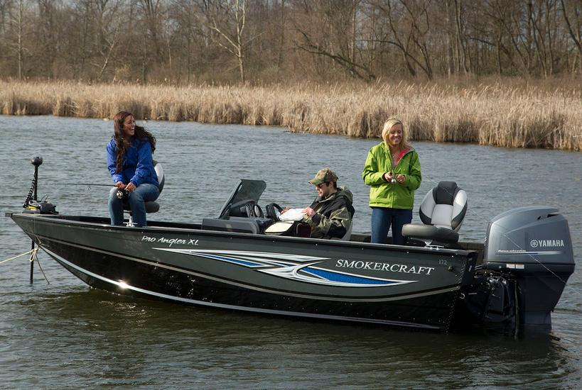 2018 Smoker Craft 171 Pro Angler XL in Madera, California