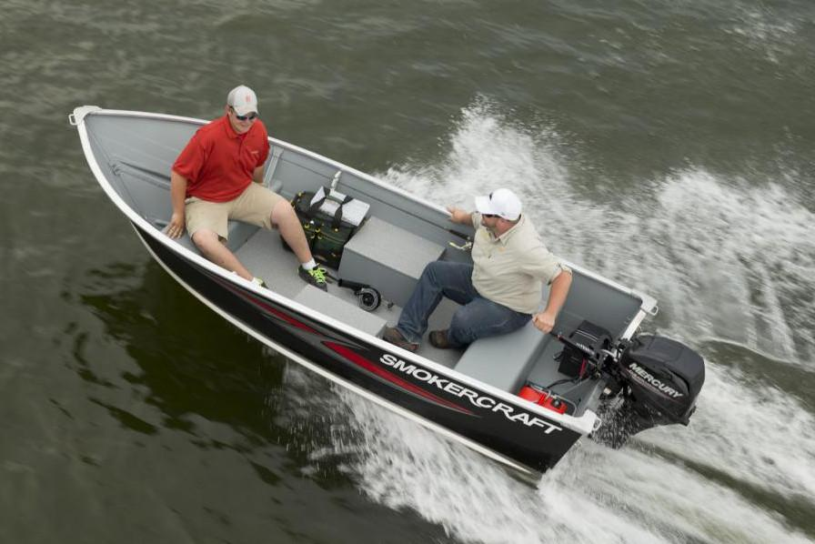 New 2019 Smoker Craft 13 Alaskan DLX Power Boats Outboard in