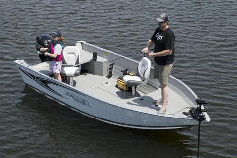 2021 Smoker Craft ANGLER 16 XL TL in Lagrange, Georgia