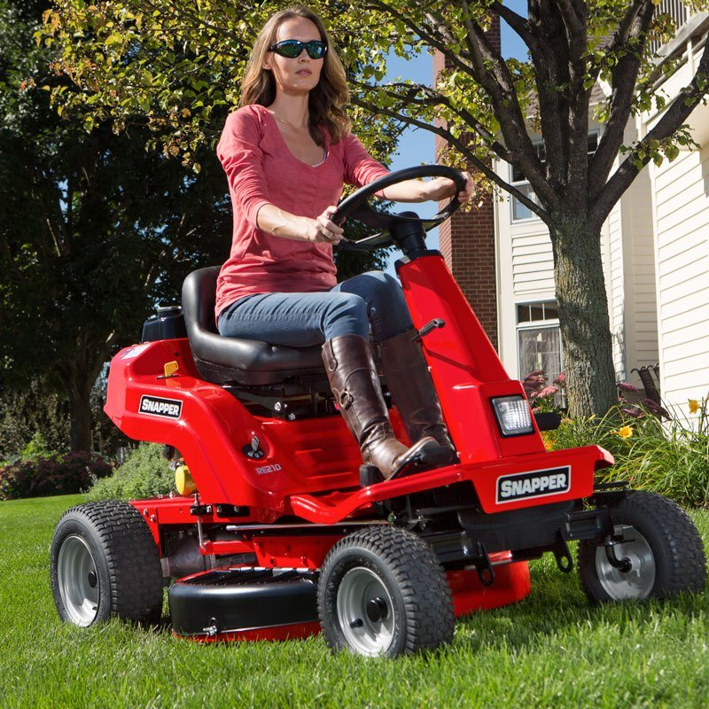 New 2017 snapper rear engine riding lawn mowers re130 for Best motor oil for lawn mowers
