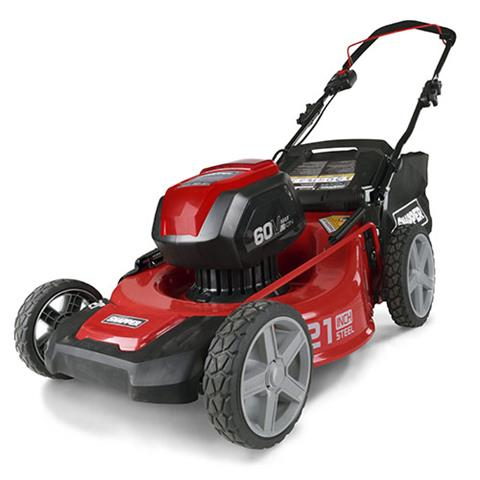 2017 Snapper 60-Volt Max Lithium-Ion Cordless Walk Mower (SP60V) in Calmar, Iowa