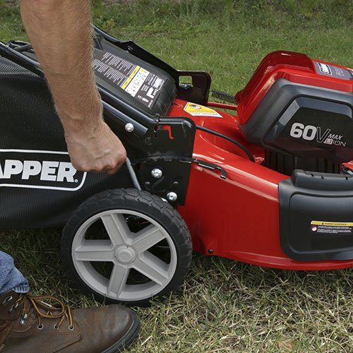 2017 Snapper 60-Volt Max Lithium-Ion Cordless Walk Mower (SP60V) in Gonzales, Louisiana