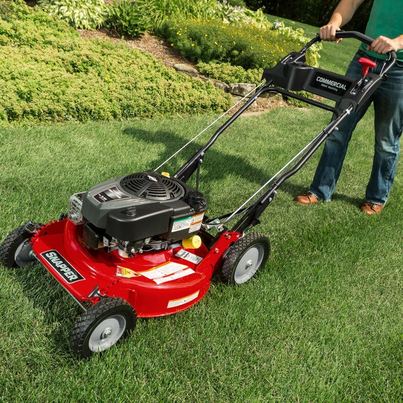 Commercial Lawn Mowers : New snapper commercial series lawn mowers