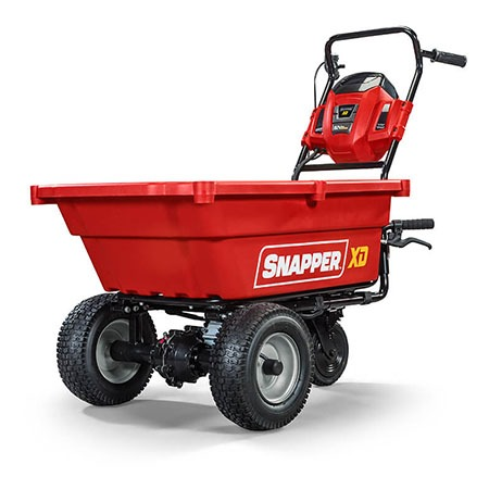 Snapper XD 82V Max Lithium-Ion Cordless Self-Propelled Utility Cart (SXDC82) in Lafayette, Indiana