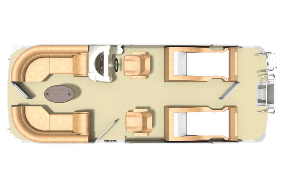 2016 South Bay 522 SL in Center Ossipee, New Hampshire